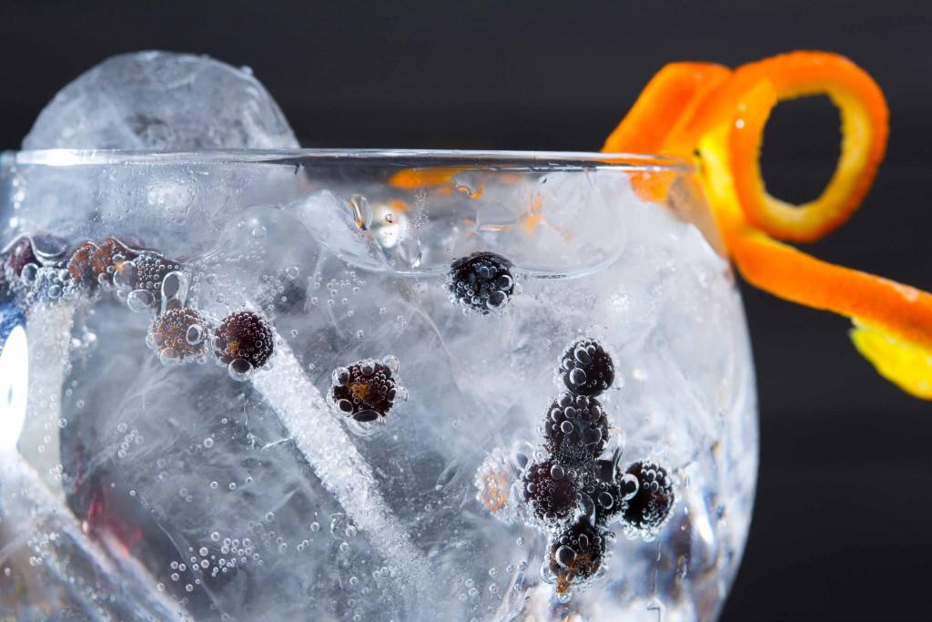 Carta de gin tonics del restaurante en Barcelona