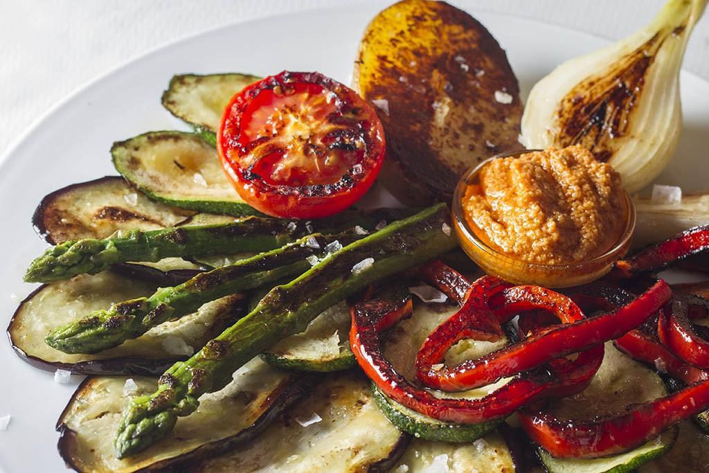Plato del menú de noche del Restaurante Carmen en Sants