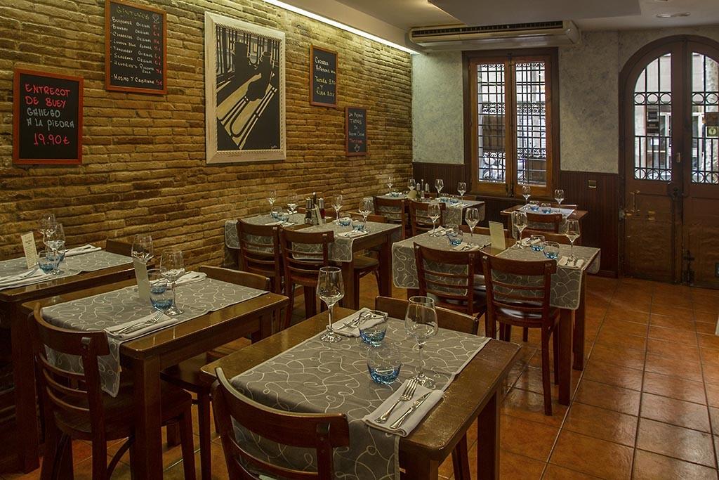 Menú de mediodia del restaurante Carmen de Barcelona