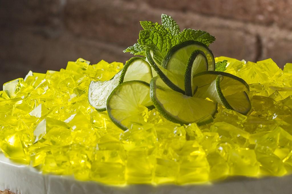 Mousse de limón para llevar