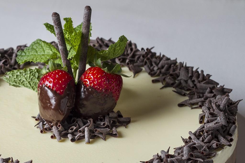 Tarta de tres Chocolates del Restaurante Carmen